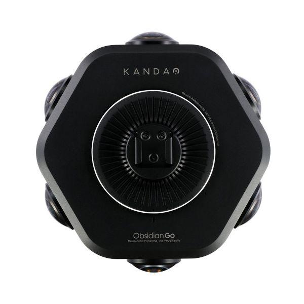 看到 Obsidian Go 3D 360° VR 摄像机