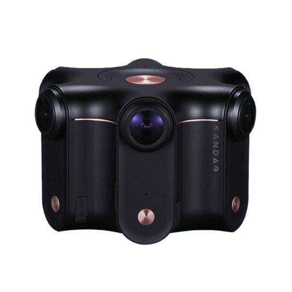 看到 Obsidian R 高分辨率 3D 360° VR 摄像机